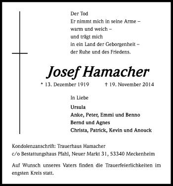Zur Gedenkseite von Josef