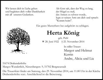 Zur Gedenkseite von Herta