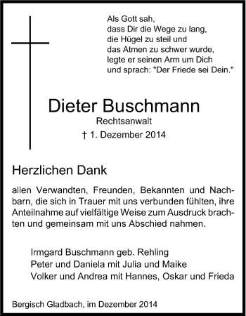Zur Gedenkseite von Dieter