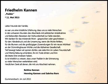 Zur Gedenkseite von Friedhelm