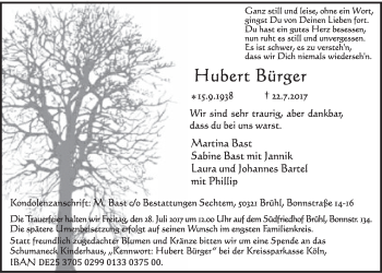 Hubert Bürger