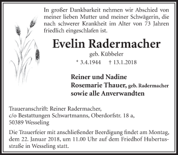 Evelin Radermacher