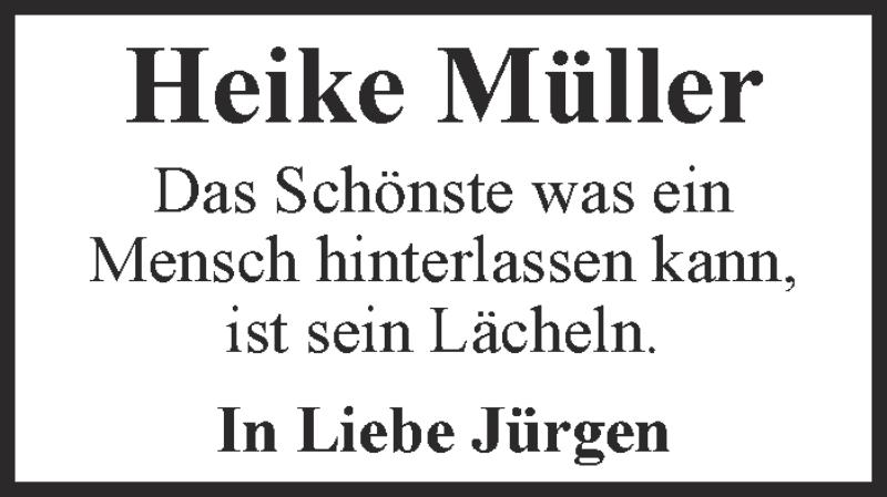 Traueranzeigen Von Heike Muller Wirtrauern