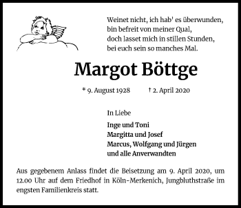 Margot Böttge
